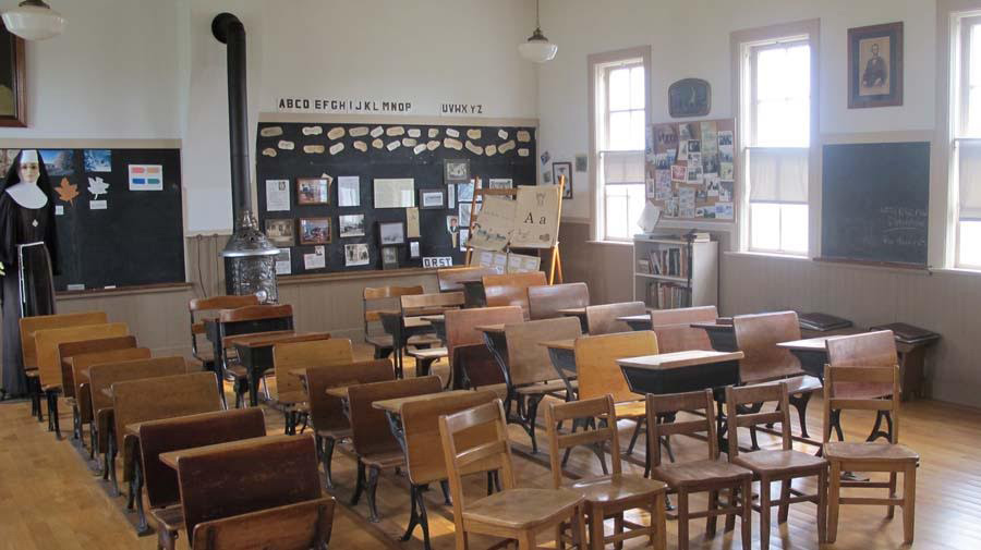 Inside View of School House