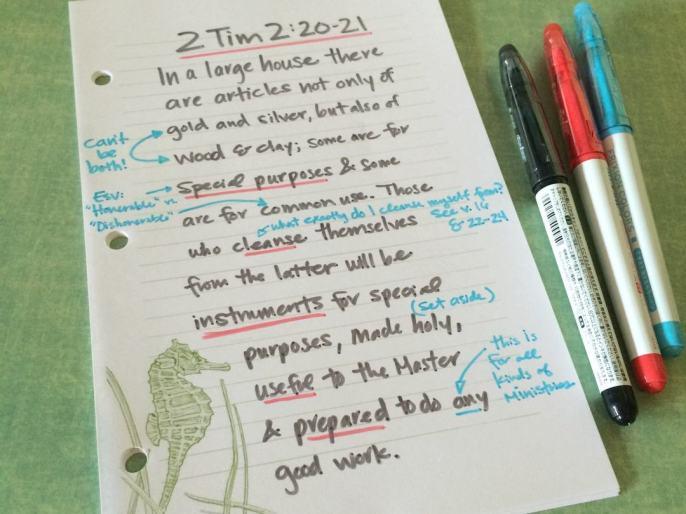 Scripture Map Journal 2 Tim 2