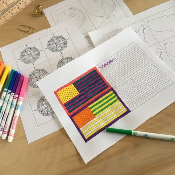 Art Curriculum about Color Theory