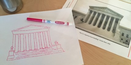 Drawing projects for American Landmarks