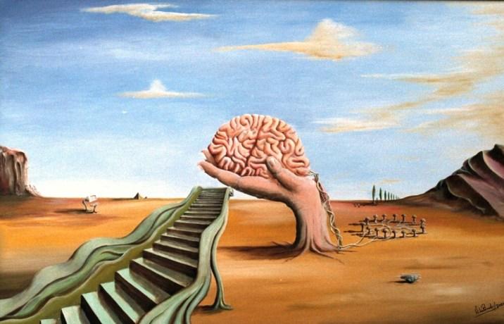Surrealism example- Brain Chain by Willem den Broeder {US CC}