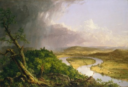 The Oxbow by Thomas Cole-1836