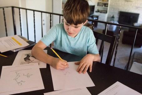 Boy drawing Rockwell- web