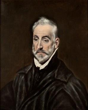 El Greco - Portrait of Antonio de Covarrubias- web