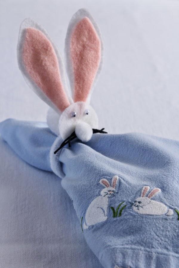 DIY Bunny napkin rings (8) | Ridgely's Radar