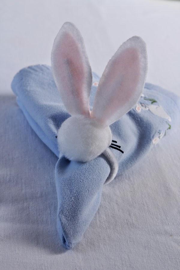 DIY Bunny napkin rings (10) | Ridgely's Radar