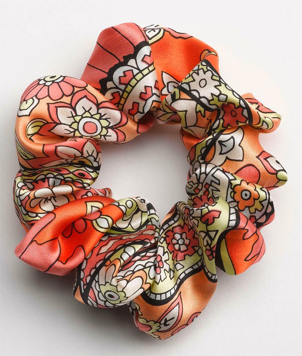 L. Erickson medium scrunchie {pattern} | Nordstrom