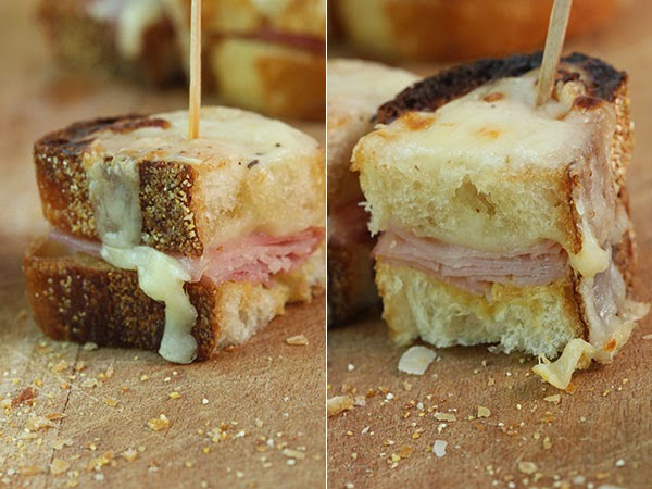 Mini Croque Monsieur Sandwiches (2) | Ridgely's Radar
