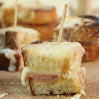Mini Croque Monsieur Sandwiches