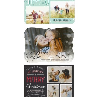 Tiny Prints: Photo Holiday Cards