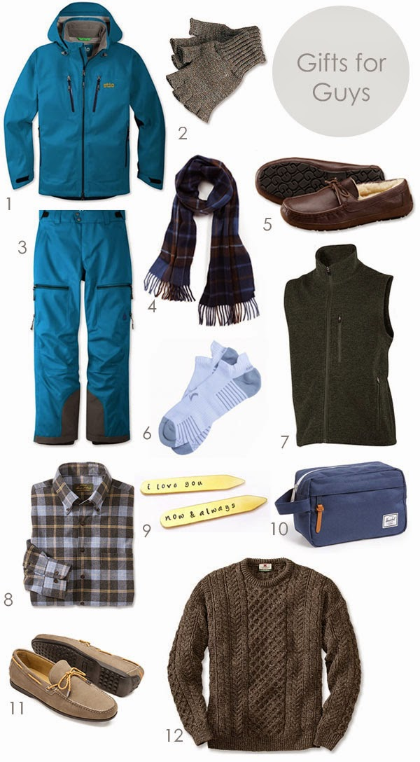 Gift Guide: For the Guys to Wear | Ridgely's Radar