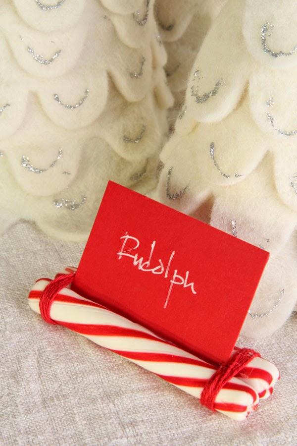 DIY Candy Cane Place Cards (3)   Ridgely's Radar