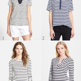 8 Striped Tops