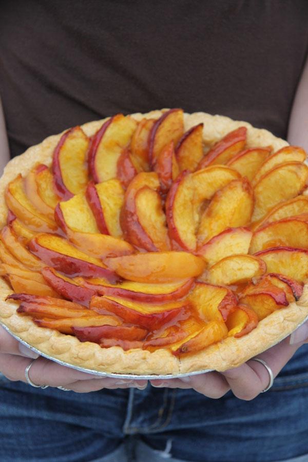 Rustic Peach Tart from Francoise Payard | Ridgely's Radar