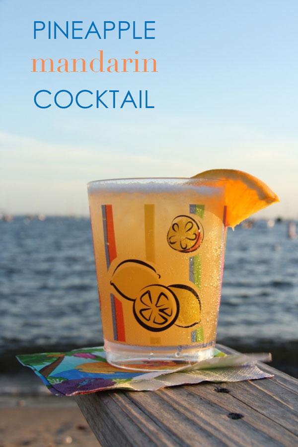 Lisa's Pineapple Mandarin Cocktail   Ridgely's Radar