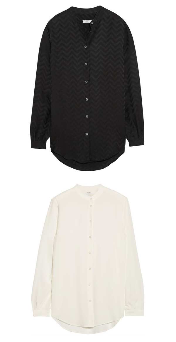 Equipment Henri washed-silk shirts | Net-A-Porter