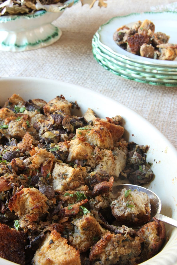 Two Way Stuffing with Mushrooms and Bacon (3) | Ridgely's Radar