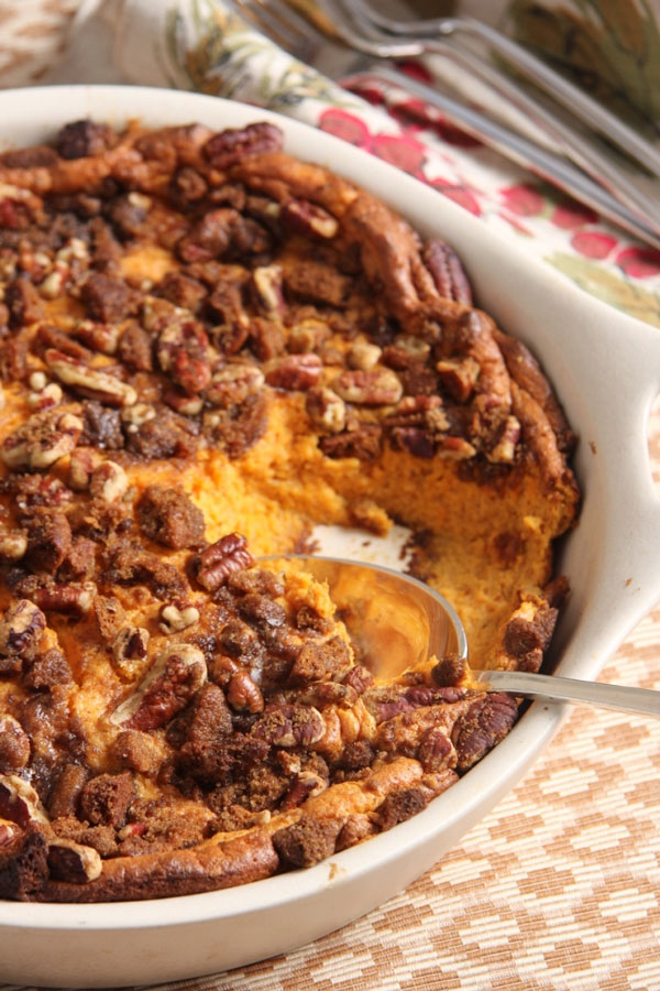 sweet potato pudding with pecan and gingersnap topping (2)   Ridgely's Radar