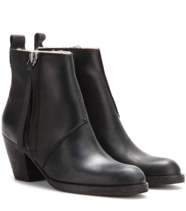 Acne Pistor Shearling Lined Boots