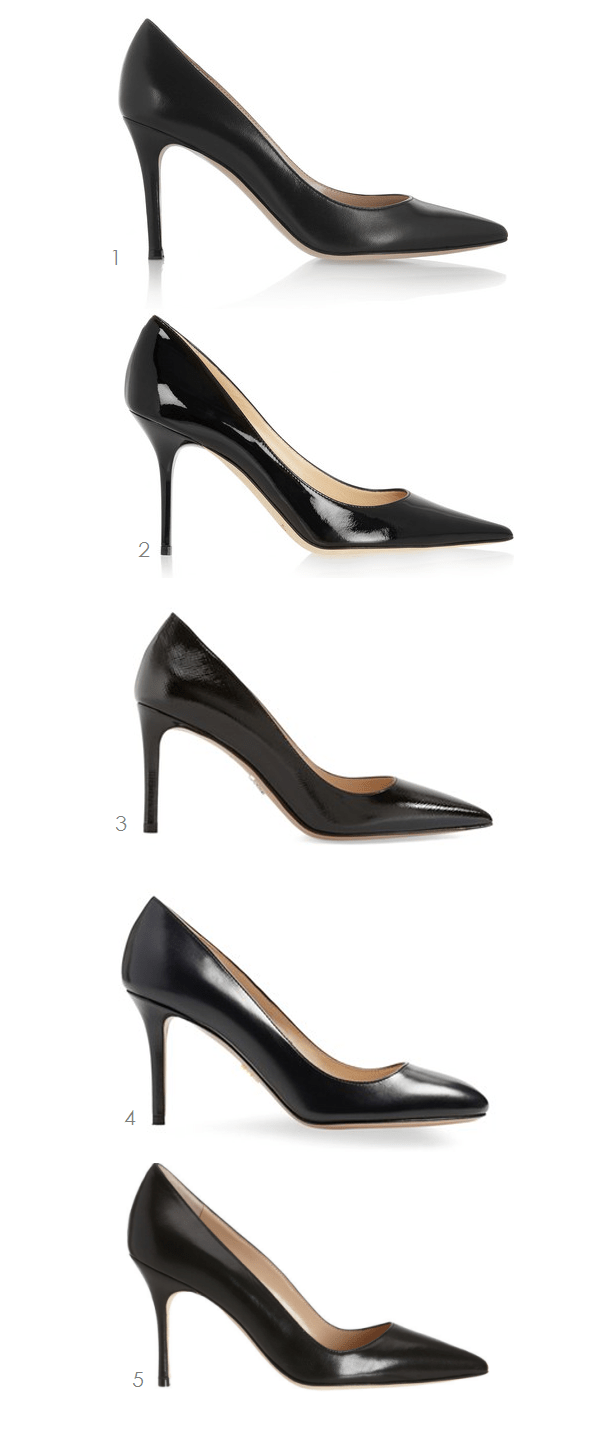 5 Classic Black Pumps | Ridgely's Radar