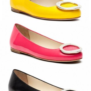 Bright Colored Ballet Flats