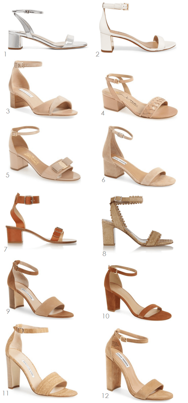 12 Stacked Heels with an Ankle Strap | Ridgely's Radar