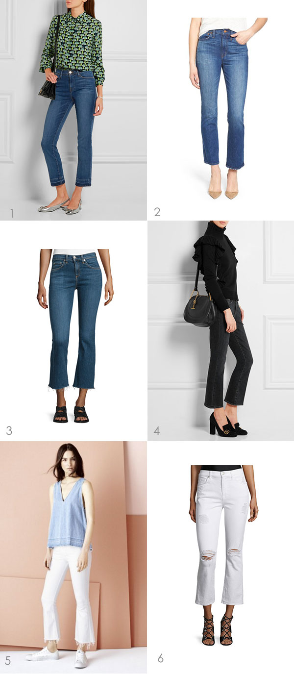 Cropped Flared Jeans | Ridgely's Radar