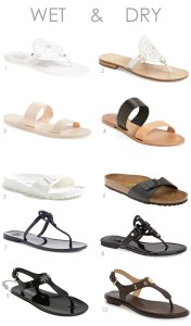10 Affordable Wet and Dry Sandals