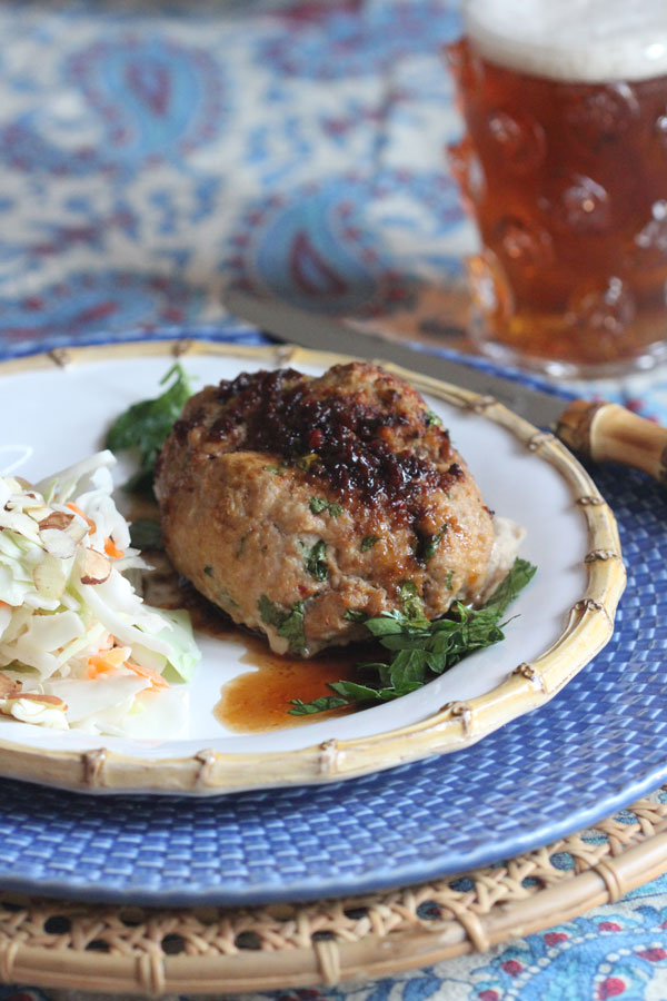 Turkey Mini Meatloaves With Chili Sesame Glaze and Asian Inspired Cole Slaw | Ridgely's Radar