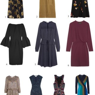10 Flattering and Comfortable Dresses for Thanksgiving