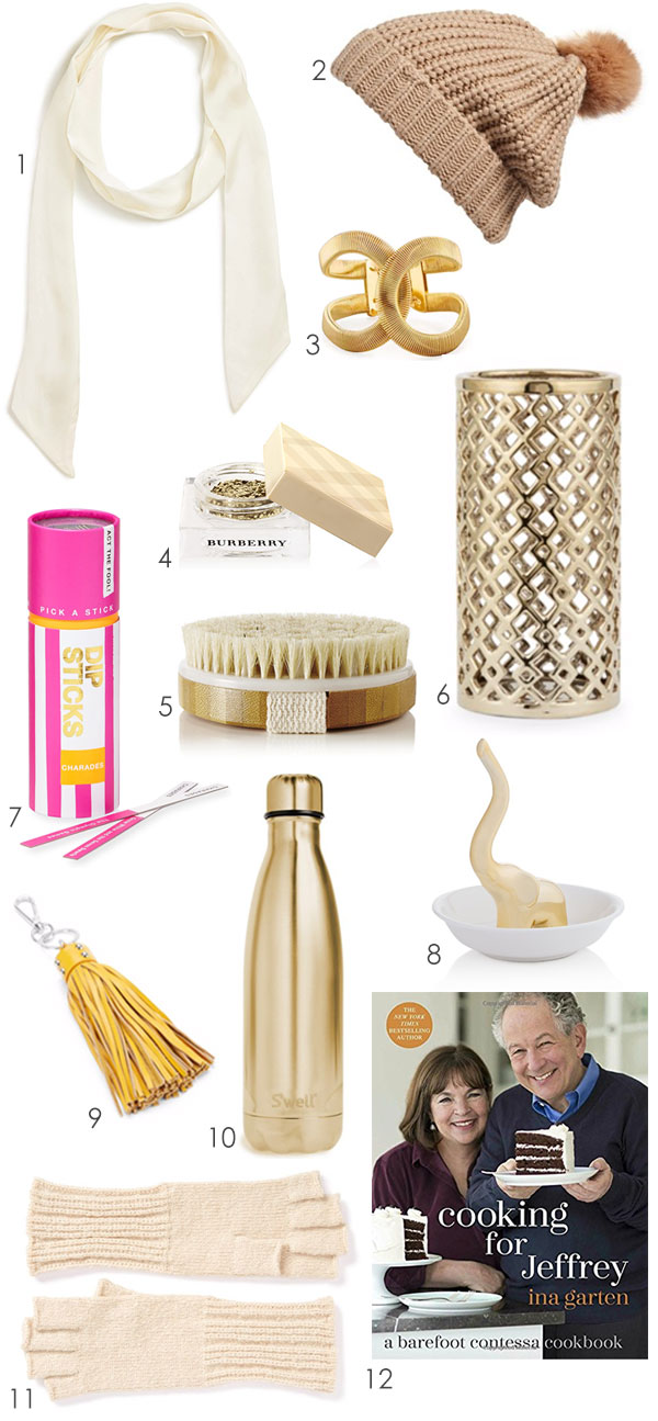 Here are a dozen gift ideas for $25 and under that will work for your closets friends and/or a gift exchange