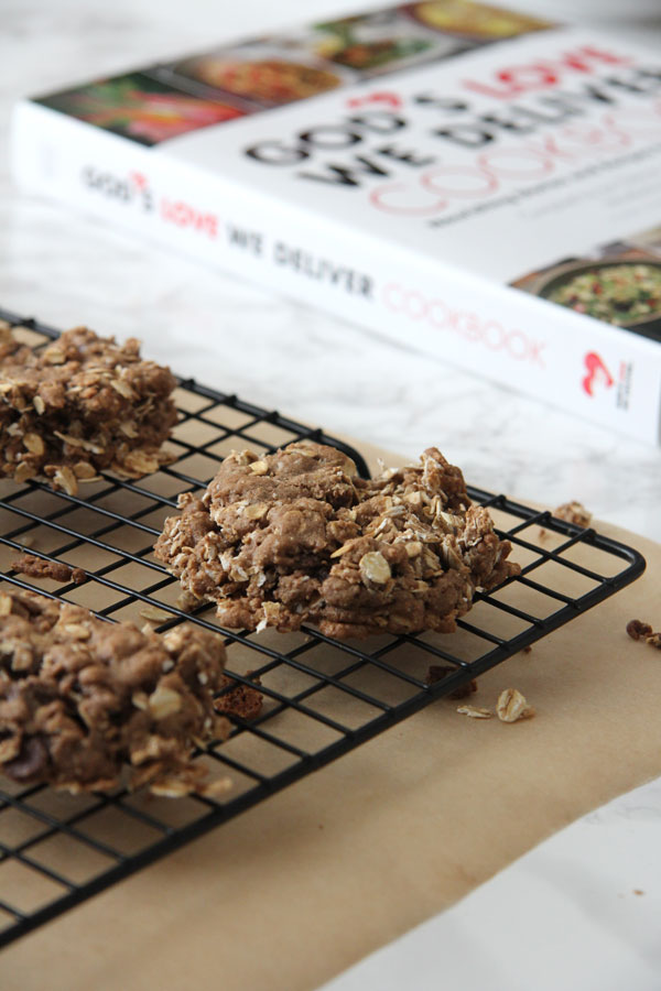 These Double-Chocolate Oatmeal Cookies are one of Lifestyle Blogger, Ridgely Brode's favorites and she shares the recipe on Ridgely's Radar.