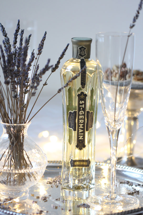 Lifestyle Blogger, Ridgely Brode, Celebrates the New Year with this St-Germain Champagne Cocktail on her blog Ridgely's Radar
