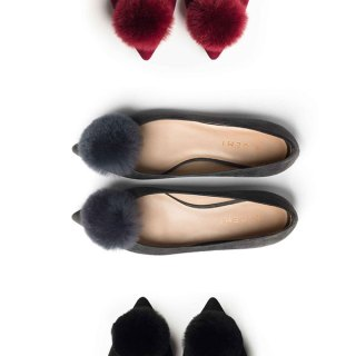 How Cute Are These Pom-Pom Flats?
