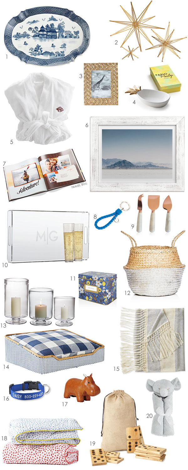 Are you looking for the perfect present? If so, Ridgely Brode has 20 great gift ideas for every occasion on her blog Ridgely's Radar