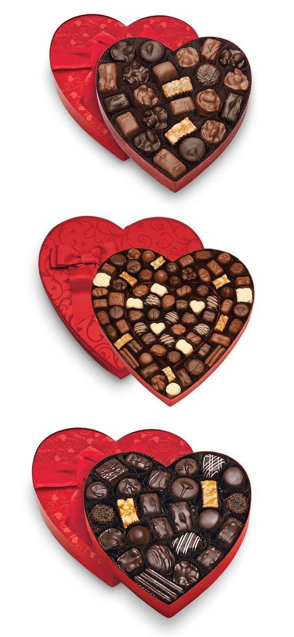 Guess what Ridgely Brode, blogger behind Ridgely's Radar, would like for Valentines Day? A box of Dark Chocolates from See's Candies!
