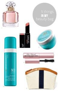 5 Things in My Beauty Bag   09