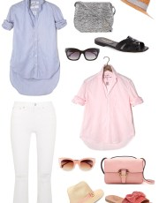 Ridgely Brode shares her favorite white shirt and the new styles she would like to add to her closet on her blog Ridgely