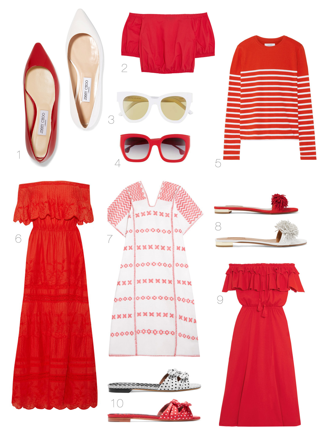 Ridgely Brode keeps seeing red when she is looking around and found a bunch of really cute red things she is considering on her blog, Ridgely's Radar.