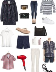 Ridgely Brode shares what she packed for her trip to London on her blog, Ridgely