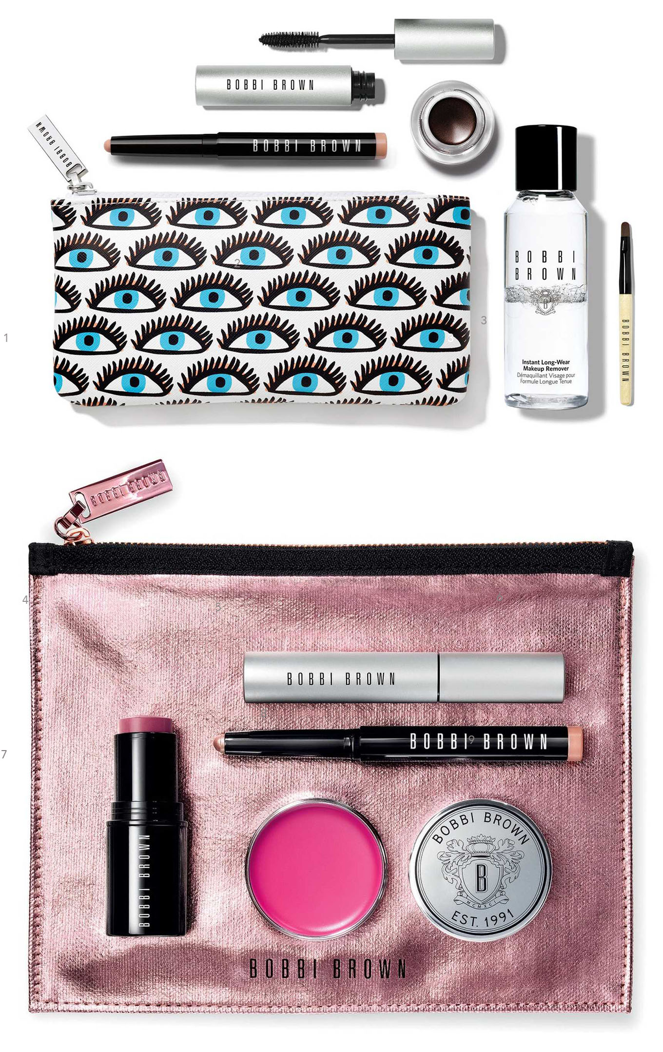 Ridgely Brode loves to try out the travel size beauty sets that come as a gift with purchase and shares a few on her blog, Ridgely's Radar.