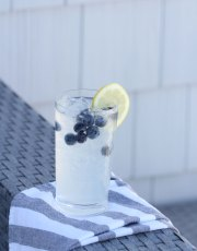 Looking for a fresh, delicious cocktail, Ridgely Brode makes a spiked blueberry lemonade and shares the recipe on her blog, Ridgely