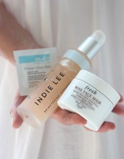 Ridgely Brode finds 3 new beauty products at Bluemercury and shares how she is using and enjoying them on her blog, Ridgely