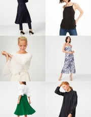 Ridgely Brode finds lots of pleats at Club Monaco in their new arrivals, plus some other pretty pieces which she shares on her blog, Ridgely