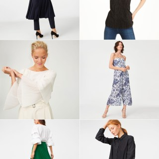 Ridgely Brode finds lots of pleats at Club Monaco in their new arrivals, plus some other pretty pieces which she shares on her blog, Ridgely's Radar.