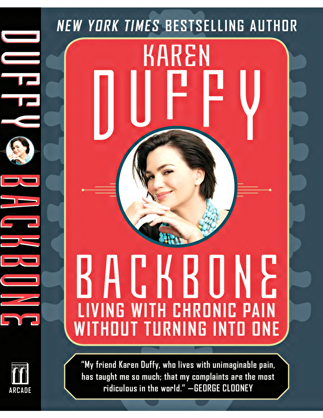 Ridgely Brode chats with Karen Duffy, Author of Backbone: Living with Chronic Pain without Turning into One, on her blog Ridgely's Radar