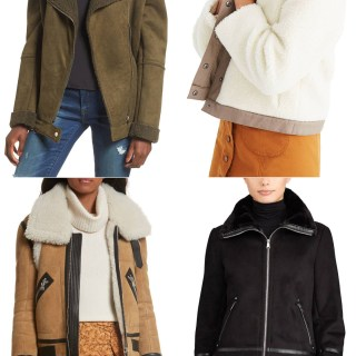 I am looking for a Shearling Jacket