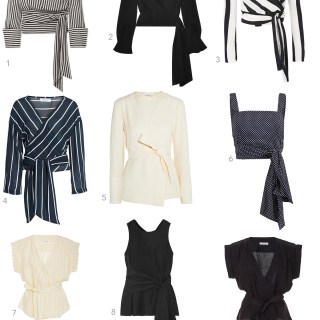 9 Wrapped Blouses