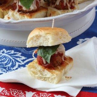 Mini Meatball Sandwiches
