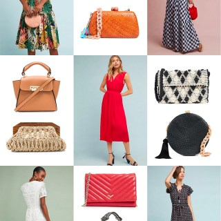 Dresses and Clutches